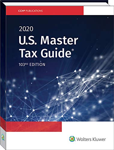 U. S. Master Tax Guide (2020)  N/A 9780808047797 Front Cover