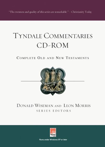 Tyndale Commentaries CD-ROM Revised 9780830842797 Front Cover