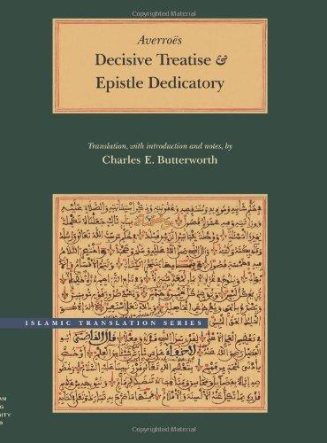 Decisive Treatise and Epistle Dedicatory   2001 edition cover