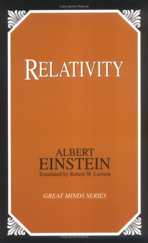 Relativity The Special and General Theory Unabridged  9780879759797 Front Cover