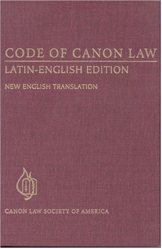 Code of Canon Law, Latin-English Edition : New Translation 1st edition cover