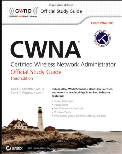 CWNA Certified Wireless Network Administrator - Exam PW0-105 3rd 2012 edition cover