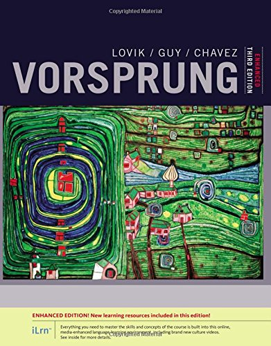 Vorsprung, Enhanced: A Communicative Introduction to German Language and Culture, Enhanced  2016 9781305659797 Front Cover