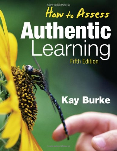 How to Assess Authentic Learning  5th 2009 edition cover