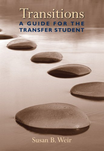 Transitions A Guide for the Transfer Student  2008 edition cover