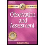 Week by Week Observation and Assessment, Professional Enhancement Supplement:  4th 2007 edition cover