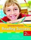 Interventions for Reading  2nd 2014 edition cover