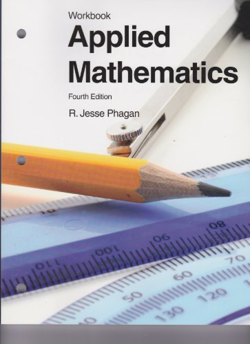 Applied Mathematics  4th 2010 (Workbook) edition cover