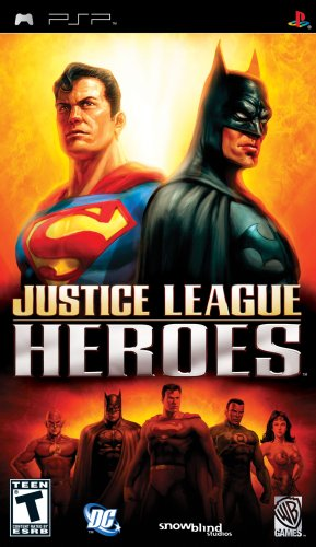 Justice League Heroes - Sony PSP Sony PSP artwork