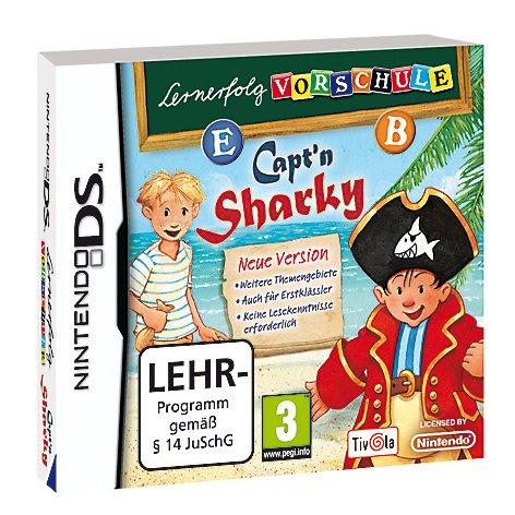 Lernerfolg Vorschule - Capt'n Sharky Neue Version Nintendo DS artwork
