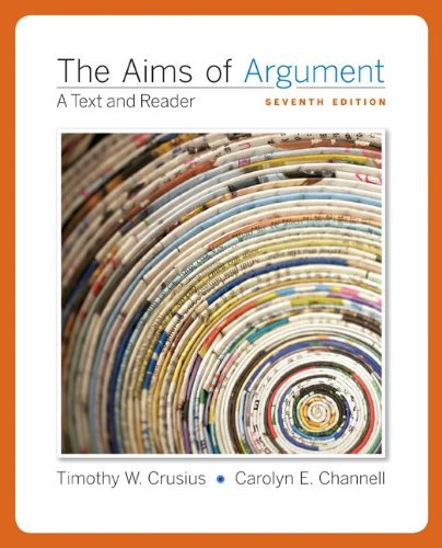 Aims of Argument Text and Reader 7th 2011 edition cover