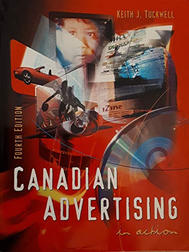 CANADIAN ADVERTISING IN ACTION 4th 1998 9780137366798 Front Cover