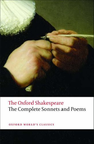 Oxford Shakespeare The Complete Sonnets and Poems  2008 edition cover