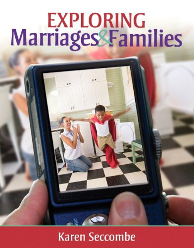 Exploring Marriages and Families   2012 (Revised) edition cover