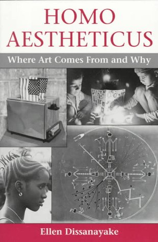 Homo Aestheticus Where Art Comes from and Why N/A edition cover