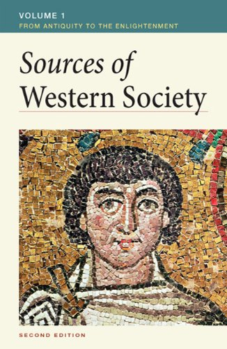 Sources of Western Society From Antiquity to the Enlightenment 2nd 2011 edition cover