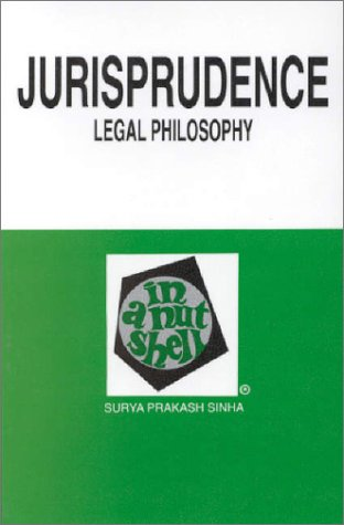 Jurisprudence (Legal Philosophy) in a Nutshell   1993 edition cover