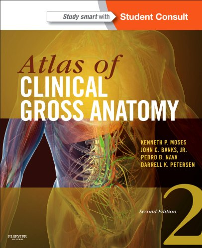 Atlas of Clinical Gross Anatomy With STUDENT CONSULT Online Access 2nd 2012 edition cover