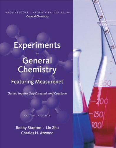 Experiments in General Chemistry Featuring MeasureNet 2nd 2010 edition cover