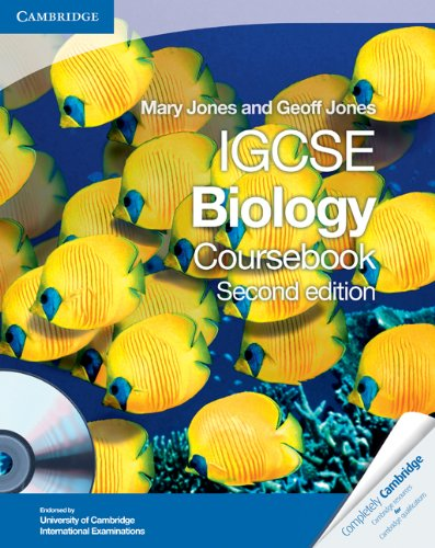 Cambridge IGCSE Biology Coursebook with CD-ROM  2nd 2010 (Revised) 9780521147798 Front Cover