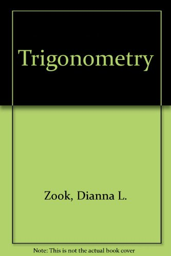 Trigonometry Student Study Guide : Used with ... Larson-Trigonometry 5th 2001 (Student Manual, Study Guide, etc.) 9780618072798 Front Cover