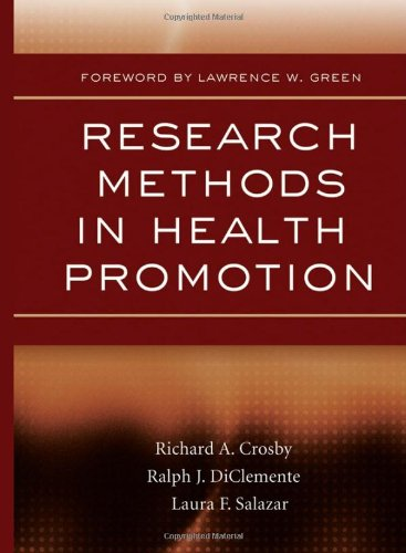 Research Methods in Health Promotion   2006 edition cover