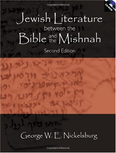 Jewish Literature Between the Bible and the Mishnah A Historical and Literary Introduction 2nd 2005 9780800637798 Front Cover