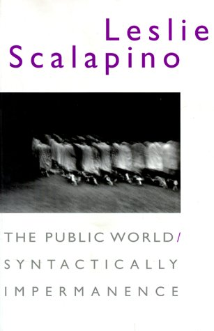 Public World - Syntactically Impermanence   1999 9780819563798 Front Cover