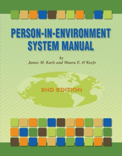 Person-In-Environment System Manual 2nd 2007 edition cover