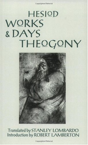 Works and Days and Theogony   1993 9780872201798 Front Cover