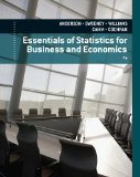 Essentials of Statistics for Business and Economics (Book Only)  7th 2015 edition cover