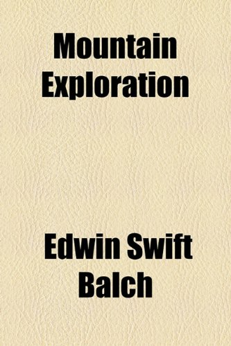Mountain Exploration  2010 edition cover