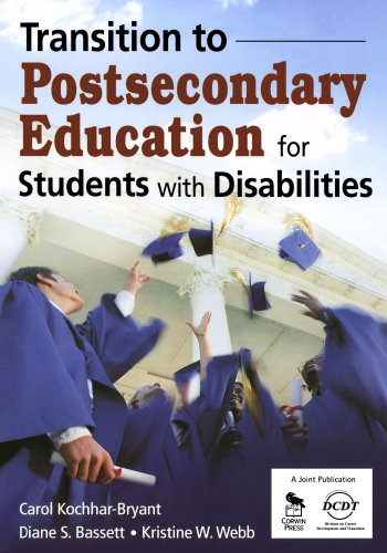 Transition to Postsecondary Education for Students with Disabilities   2009 edition cover