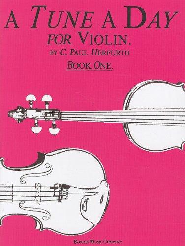 Tune a Day - Violin Book 1 N/A edition cover