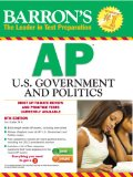 Barron's AP U. S. Government and Politics, 8th Edition  8th 2014 (Revised) edition cover