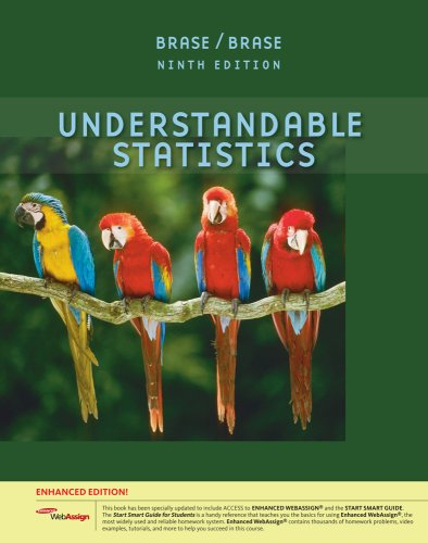 Understandable Statistics  9th 2010 edition cover