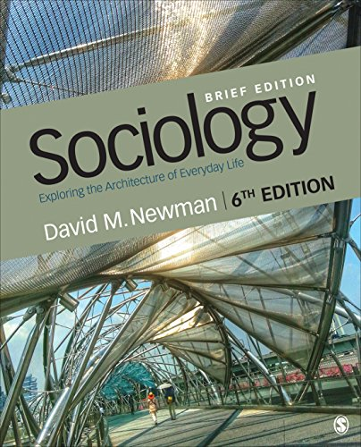 Sociology: Exploring the Architecture of Everyday Life  2018 9781544325798 Front Cover