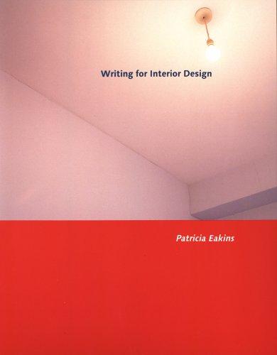 Writing for Interior Design   2005 edition cover
