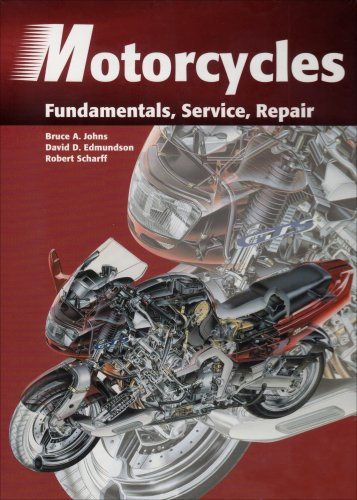 Motorcycles Fundamentals, Service, and Repair 2nd 1999 edition cover
