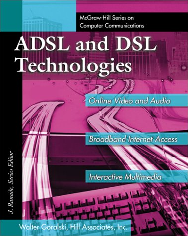 ADSL and DSL Technologies   1998 9780070246799 Front Cover