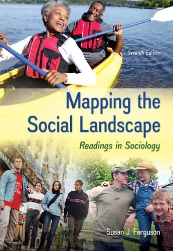 Mapping the Social Landscape Readings in Sociology 7th 2013 9780078026799 Front Cover