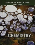 Selected Solutions Manual for Chemistry  7th 2016 edition cover