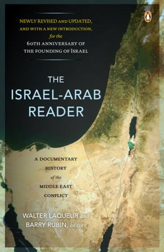 Israel-Arab Reader A Documentary History of the Middle East Conflict 7th 2008 (Revised) edition cover