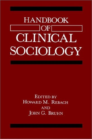 Handbook of Clinical Sociology   1991 9780306435799 Front Cover