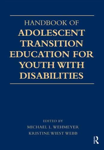 Handbook of Adolescent Transition Education for Youth with Disabilities   2012 edition cover