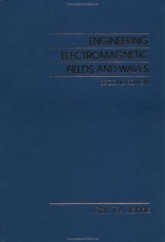 Engineering Electromagnetic Fields and Waves  2nd 1987 (Revised) edition cover