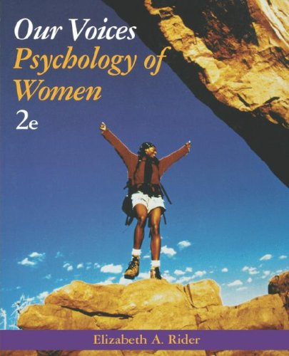 Our Voices Psychology of Women 2nd 2005 (Revised) edition cover
