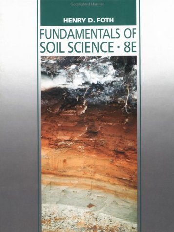 Fundamentals of Soil Science  8th 1990 (Revised) edition cover