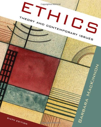 Ethics Theory and Contemporary Issues 6th 2009 9780495506799 Front Cover