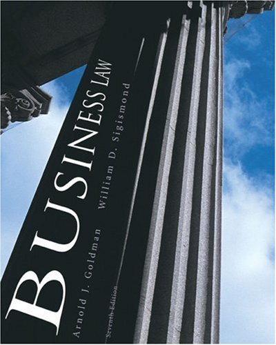 Business Law Principles and Practices 7th 2007 edition cover